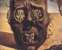 Salvador Dali Visage of War