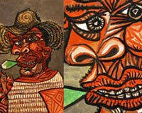 Pablo Picasso Man With Loll