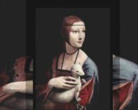 Leonardo Da Vinci Portrait Of A Lady With An Ermine