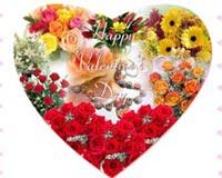 Valentines Day Flowers Hear