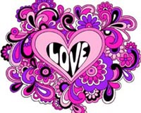Psychedelic Love Heart