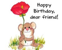Happy Birtday Dear Friend