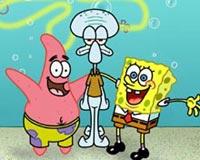 Spongebob Patrick And Squid