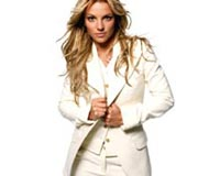 Britney Spears In White
