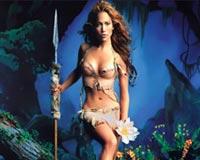 Jennifer Lopez becomes a warrior
