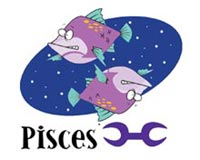 Pisces Fish Over
