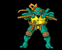 ninja turtles Michelangelo 01