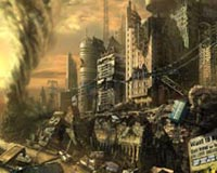 Cool Fantasy City