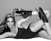 Beyonce Shoot