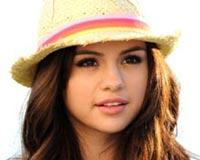 Selena Gomez Straw Hat