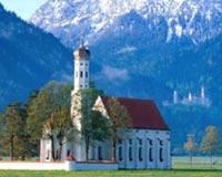 St Coloman Church Near Fuss