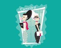 Gemini Zodiac Girl