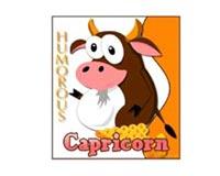 Humorous Capricorn Cow