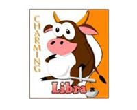 Charming Libra Cow