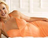 Britney Spears Orange Dress