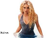Shakira In Water