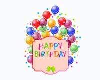 Happy Birthday Balloons 01