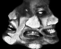 Three Scary Face