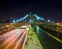 Halfway Brooklyn Bridge