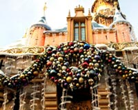 Castle New Year Decorations
