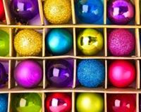 Balls Colorful festive Viti i Ri