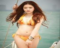 Thai Celebs In Orange Bikini