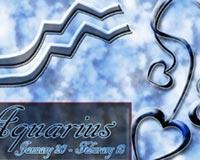 Aquarius On The Sky