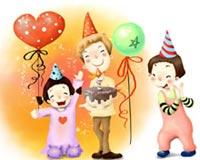Cartoon Happy Birthday