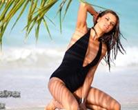 Adriana Lima With Palm