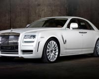 Rolls Royce White Ghost