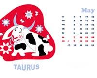 Taurus Calendar