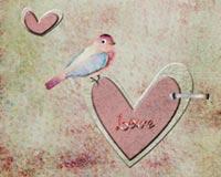 Bird On A Heart