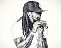 Black And White Lil Wayne