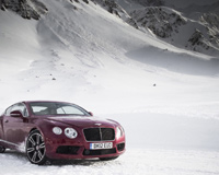 Claret Red Continental GT V8