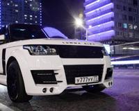 Range Rover White Moscow