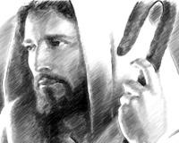 Piękne Zbawiciel Jezus Chrystus