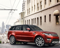 Land Rover Range Rover SUV Red