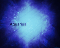 Aquarius Dark Blue