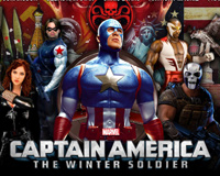 Captain America Winter Soldier 2014