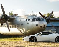 F458 Italia White Plane