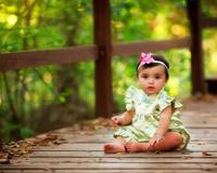 Kız Bebek Gülümseme