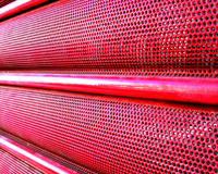 Metal Red Pattern