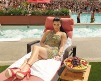 Kim Kardashian Pool Party