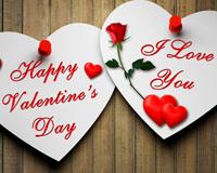 Happy Valentines Day Love Heart
