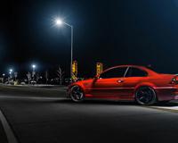 Red BMW M3 E46 343 HP