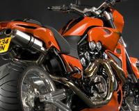 Yamaha Vmax Orange