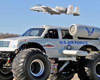 Monster Truck of US Air Force