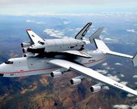 Mriya Blizzard Plane Space