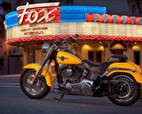 Harley Davidson Yellow Lights