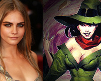 Cara Delevingne From Suicide Squad Team